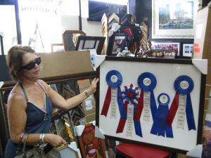 custom framing awards