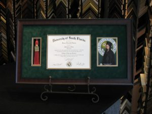 graduation photos framed