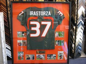 sports custom framing